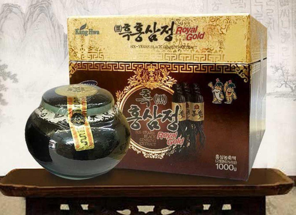 Cao hắc sâm Hàn Quốc hũ 1 kg kanghwa